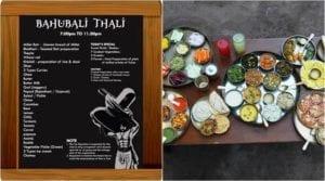 Bahubali-Thali