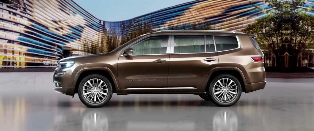 New Jeep 7-Seater SUV (Toyota Fortuner Rival) To Launch In