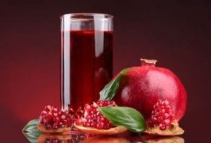 pomegrnated juice